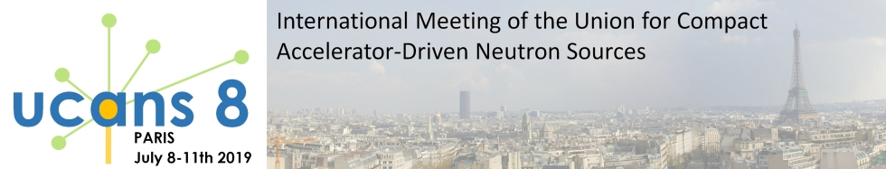 UCANS-8 Paris 8-11 July 2019